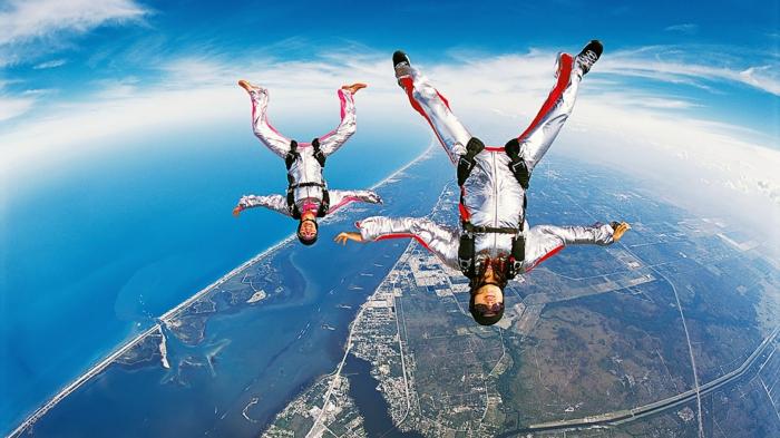 Sauter en parachute expérience inoubliabe photo