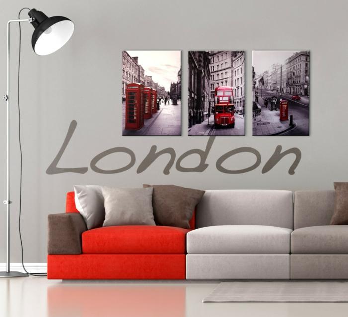 peinture-pour-le-salon-idée-originale-en-trois-panneaux-tableau-triptyque-londre-canapé