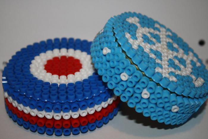perles-à-repasser-boîtes-originales-créations-3d-avec-perles-plastiques
