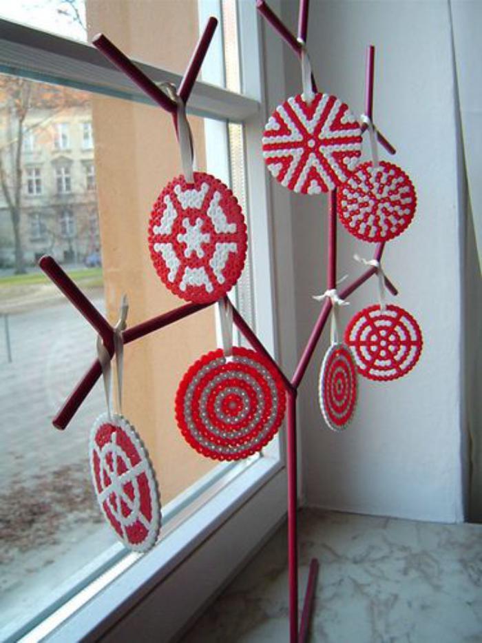 perles-à-repasser-décoration-de-Noel-originale