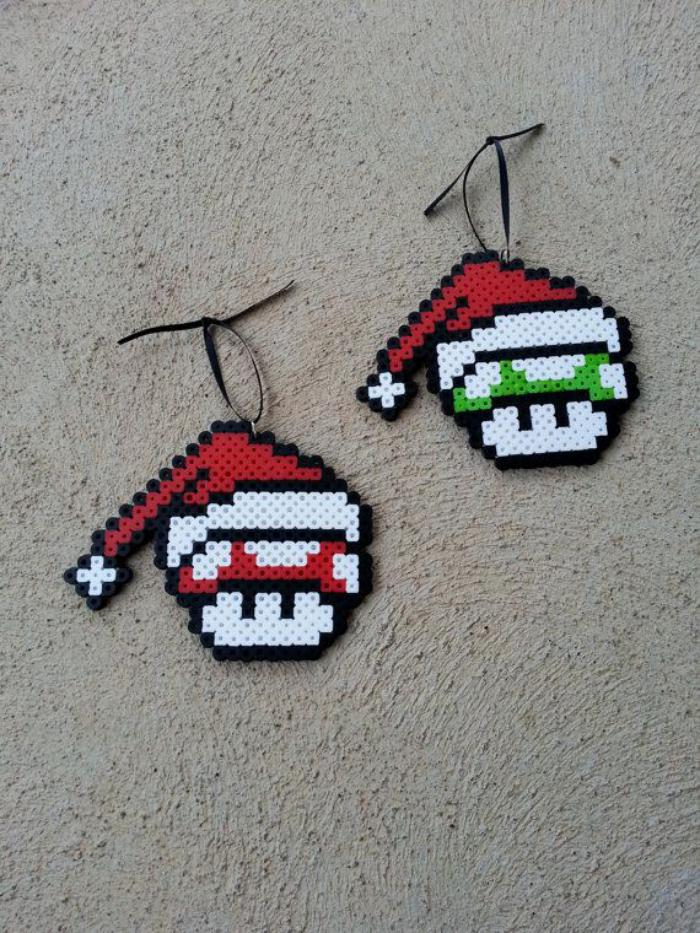 perles-à-repasser-décoration-de-Noel
