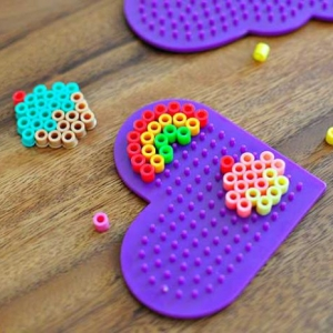 Retrouvez les perles à repasser - un amusement créatif