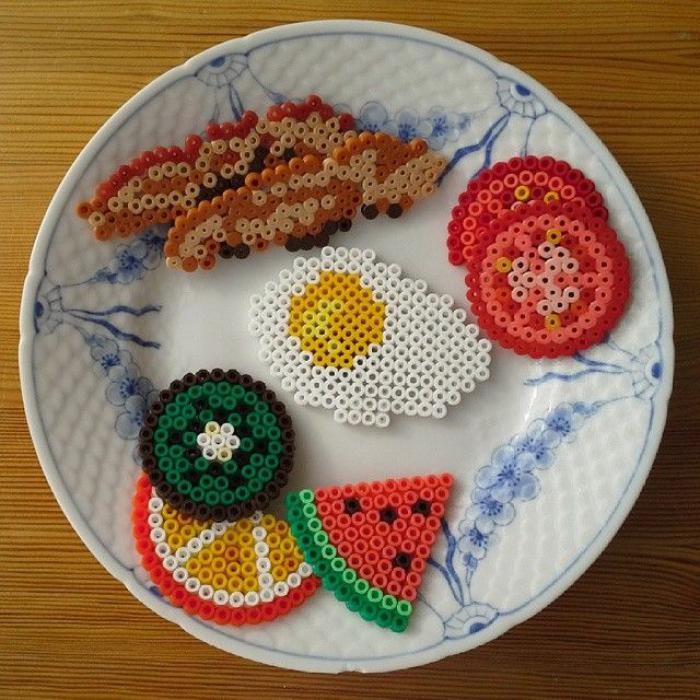 perles-à-repasser-petit-déjeuner-créé-avec-perles