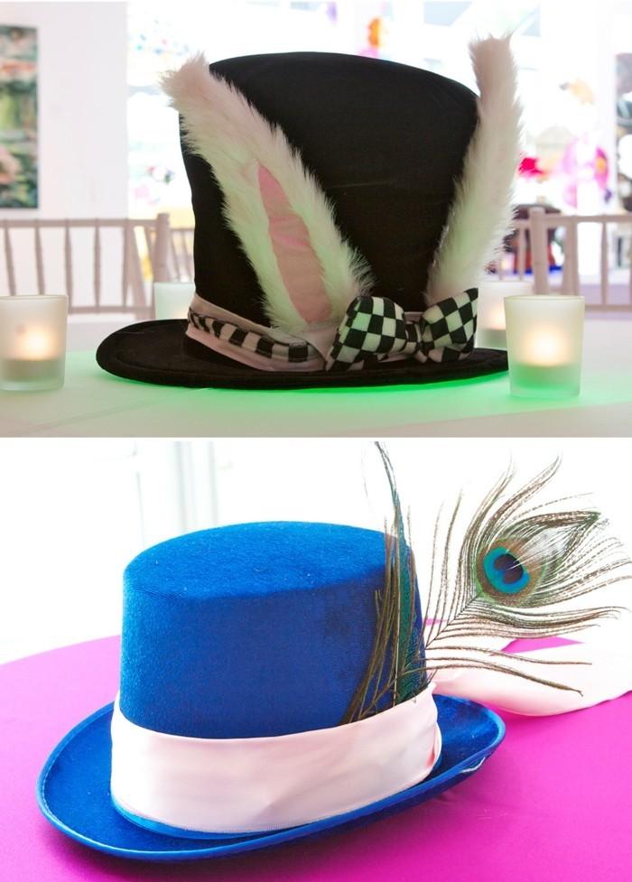 personnage-alice-au-pays-des-merveilles-disney-décoration-party-de-thé-chapeaux
