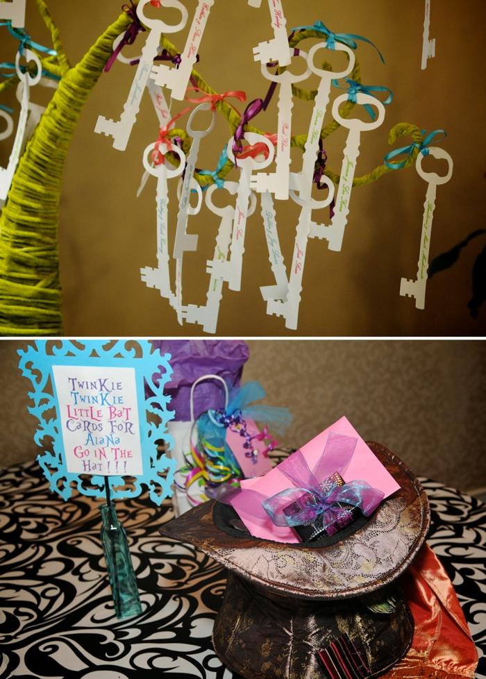 personnage-alice-au-pays-des-merveilles-disney-décoration-party-de-thé-clés