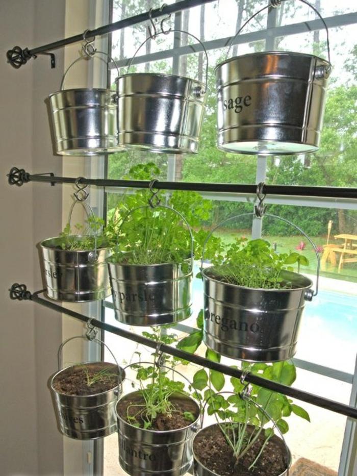 Le potager d 39 int rieur en 50 belles id es for Plantes vertes appartement