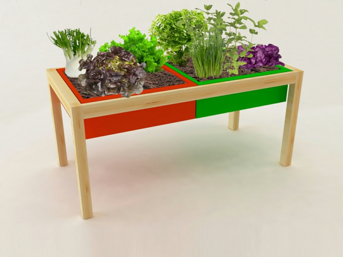 potager-d-appartement-plante-verte-d-intérieur-salle-de-séjour-pot-en-bois