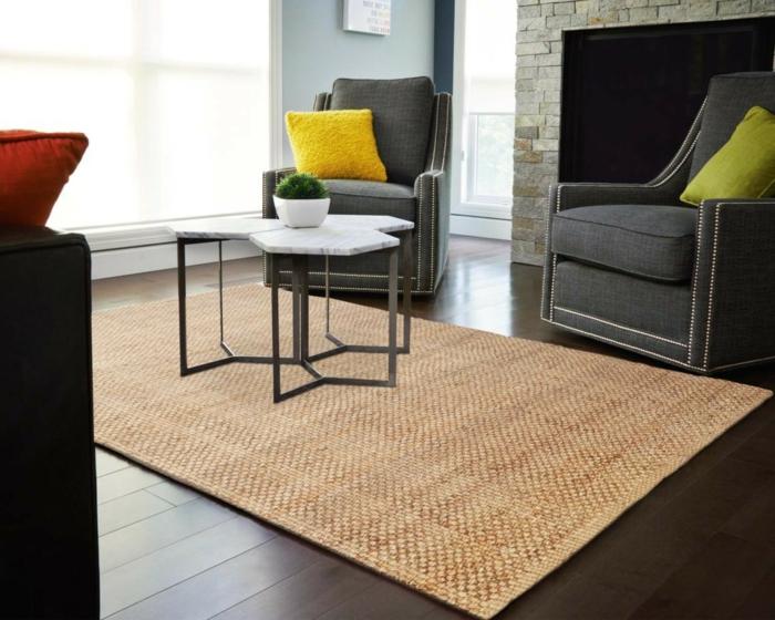 pour-votre-salon-un-tapis-beige-style-jonc-de-mer-original-idée-jolie