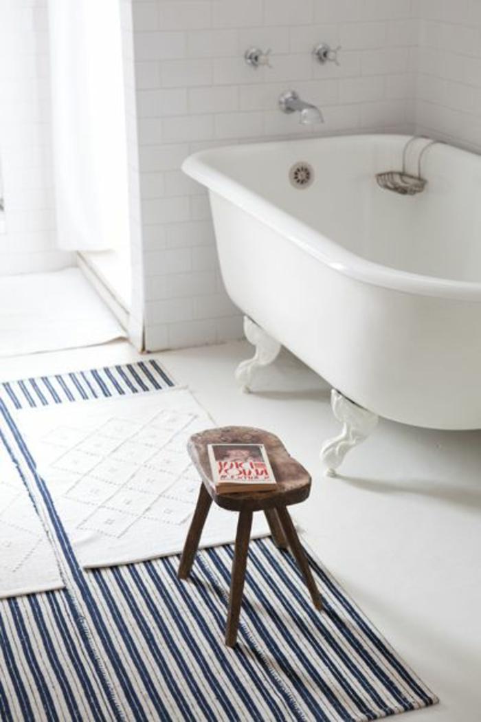 On vous pr sente le tapis de salle de bain en 45 images - Quel sol pour une salle de bain ...