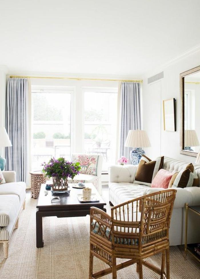 quels-meubles-bambou-pas-cher-choisir-pour-le-slaon-moderne-une-jolie-chaise-en-bambou