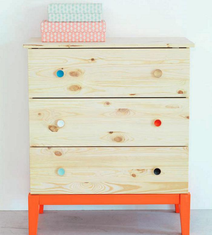 relooker-des-meubles-commode-en-bois-relookée