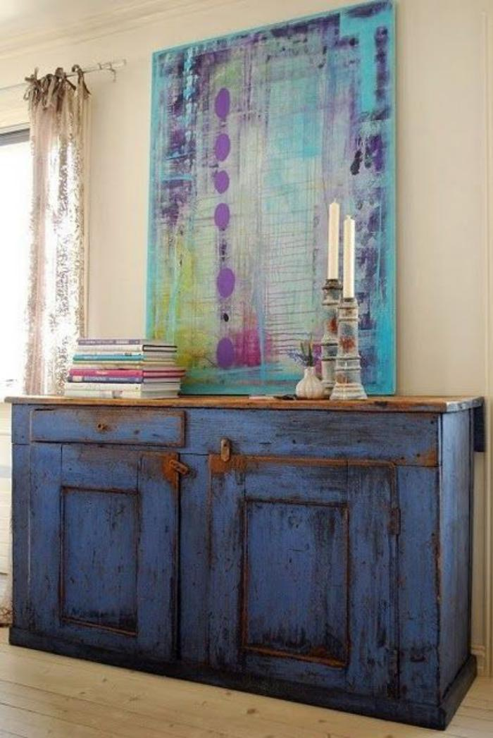 relooker-des-meubles-commode-peinte-bleue-style-shabby-chic
