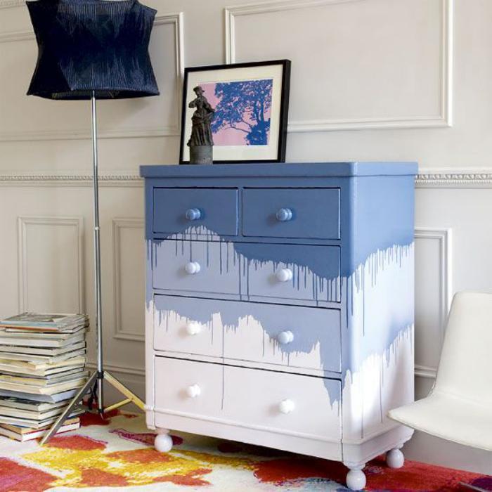 relooker-des-meubles-effet-original-créé-avec-peinture