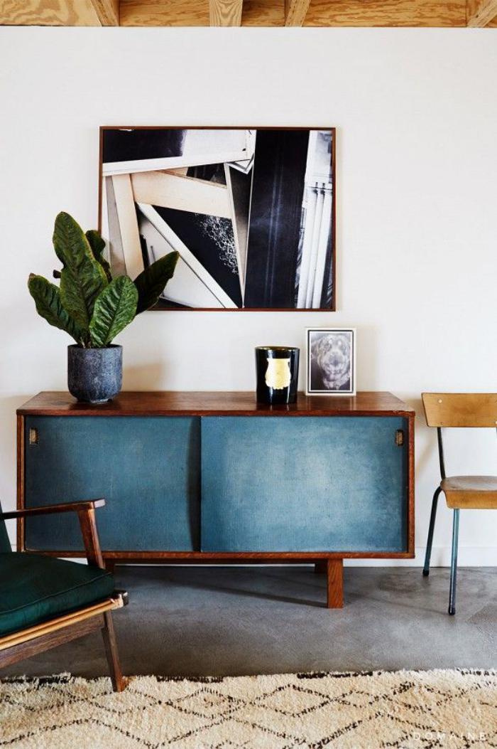 relooker-des-meubles-repeindre-une-commode-en-bleu