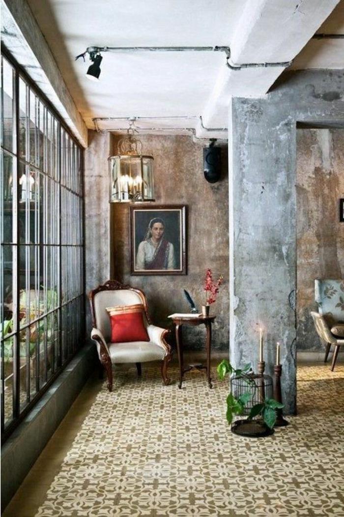 beautiful photo de salon moderne ideas. Black Bedroom Furniture Sets. Home Design Ideas