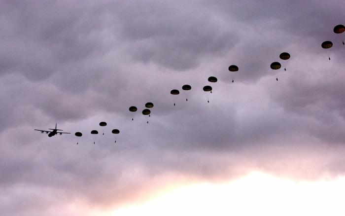 Inspirez-vous à faire votre saut en parachute