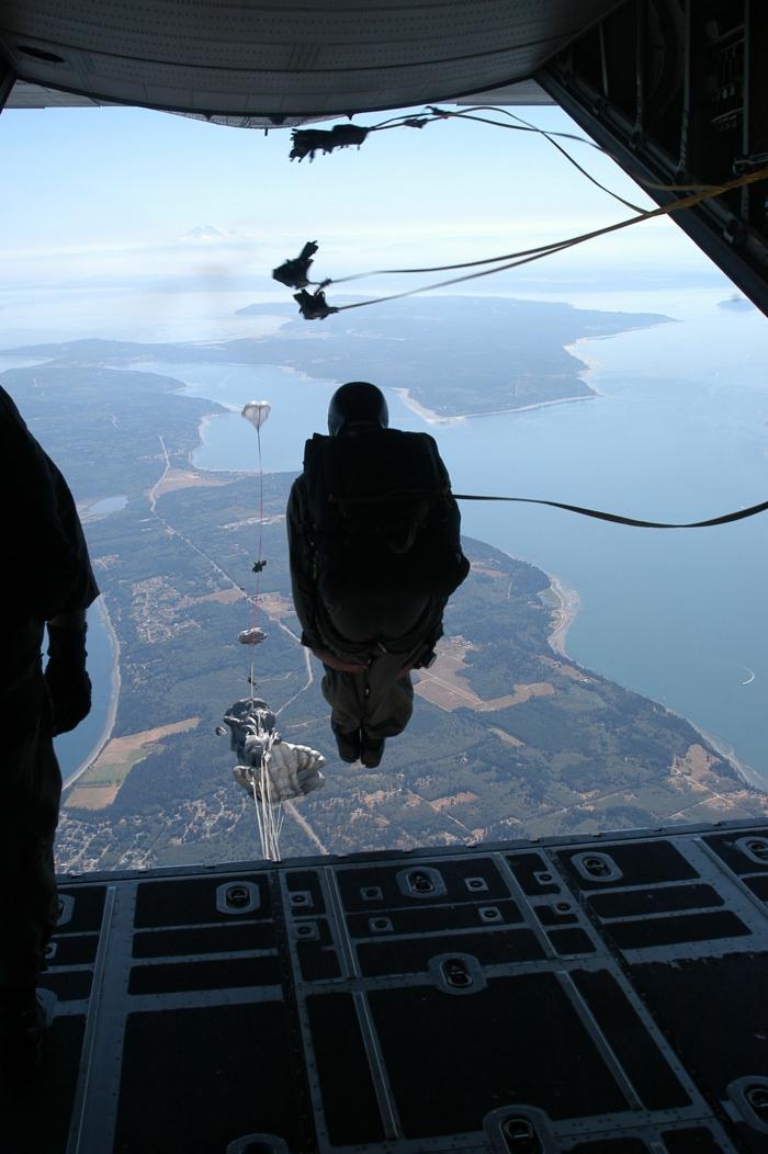 Inspirez-vous à faire votre saute en parachute en