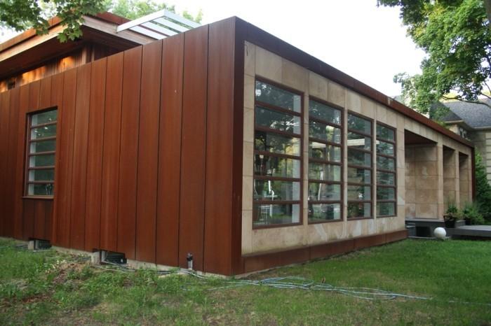 sculpture-acier-corten-matériaux-bruts-construction-maison-cuebe-plaine-pied