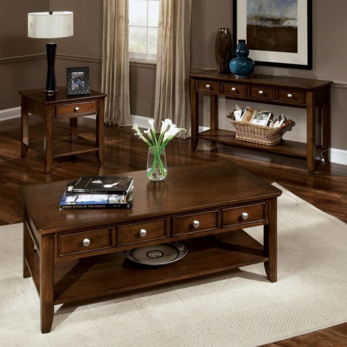 table-basse-avec-tiroir-console-et-table-basse-en-bois-laqué