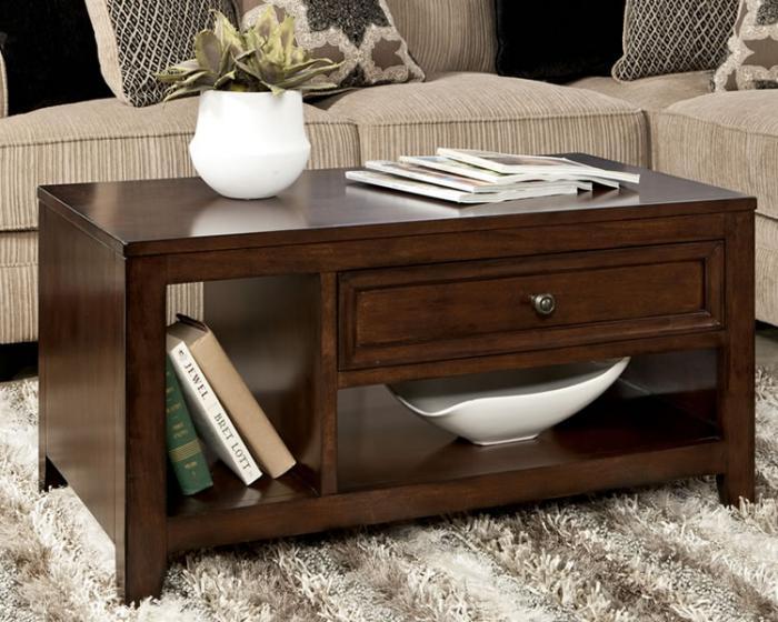 table-basse-avec-tiroir-jolie-table-basse-en-bois-foncé
