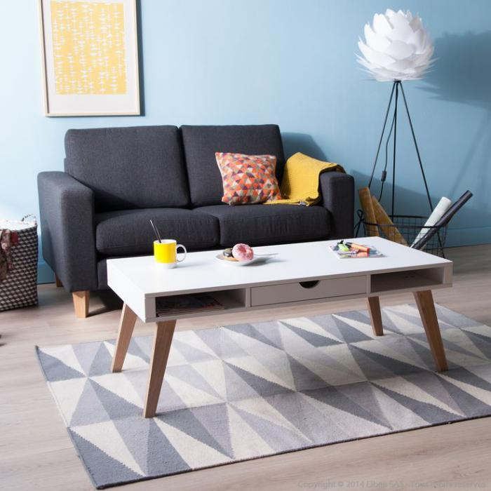 table-basse-avec-tiroir-salle-de-séjour-scandinave