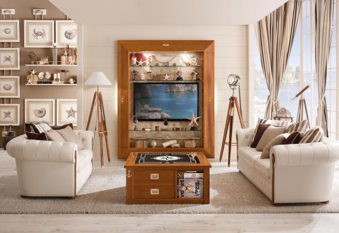 ★ La table basse avec tiroir – un meuble pratique et déco