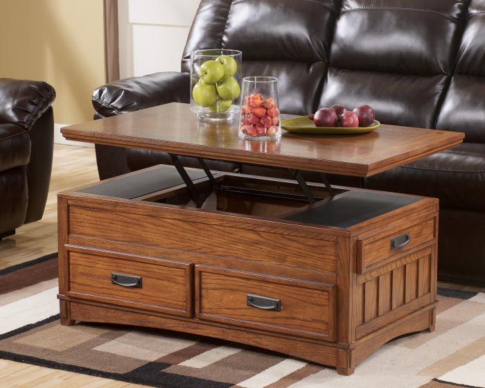 La table basse avec tiroir un meuble pratique et d co - Table basse avec plateau relevable ...