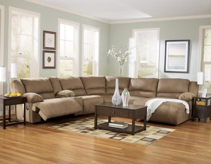 table-basse-avec-tiroir-sofas-marrons-en-microfibre