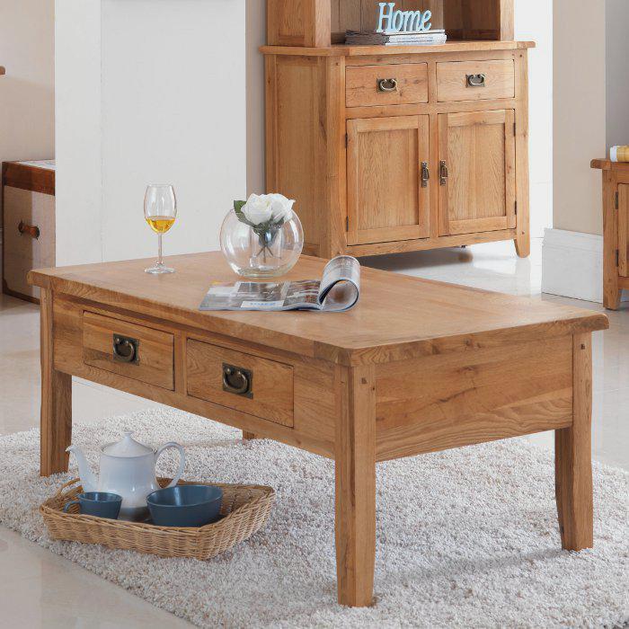 table-basse-avec-tiroir-table-et-buffet-rustiques-tapis-moelleux