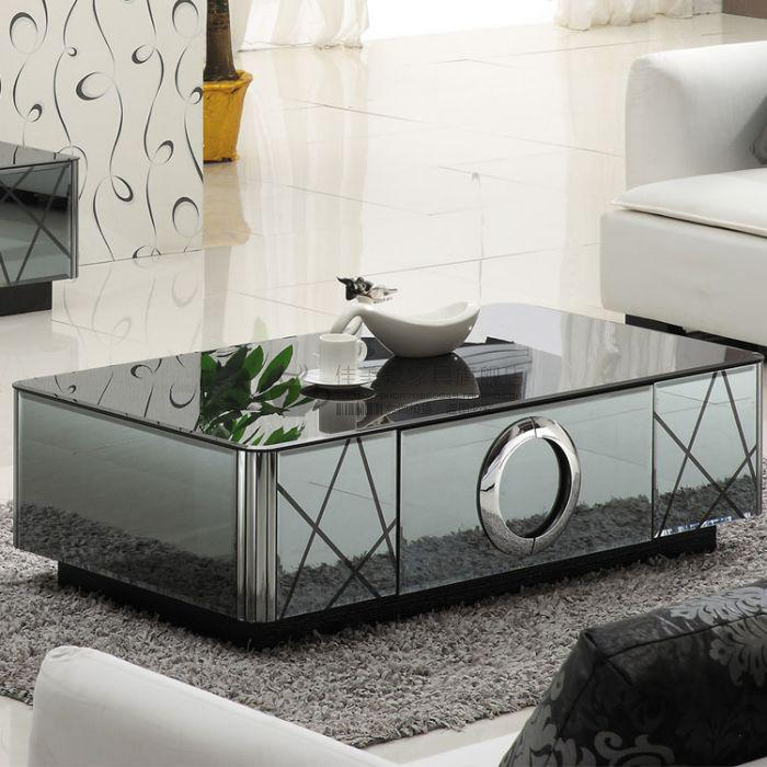 Infinity Mirror Coffee Table Images Height Bar Table Images Chic Decorating Ideas In Square