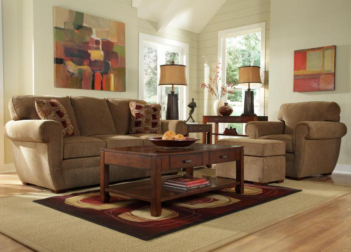 table-basse-avec-tiroir-tapis-bordeau-aménagement-beige