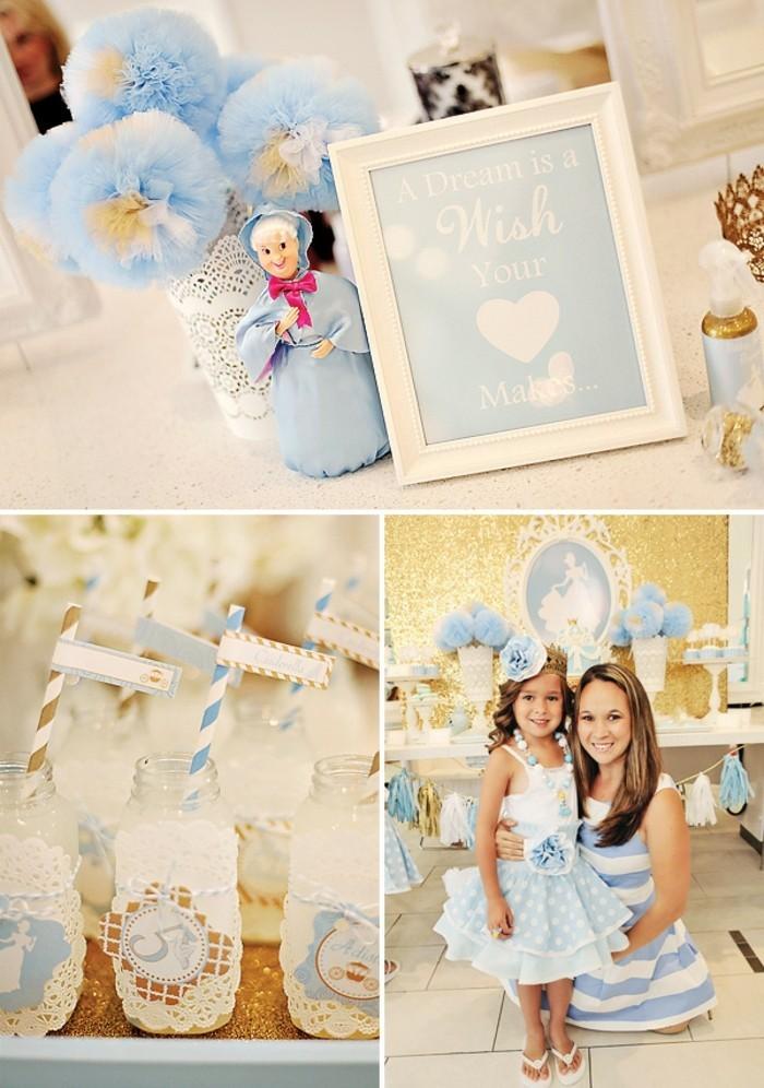 table-cendrillon-disney-cinderella-idées-déco-anniversaire-fille-gâteau-robe-de-princesse-petite-princesse