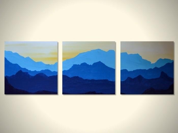 tableau-3-panneaux-peinture-pour-le-salon-deco-murale-paysage-montagnes