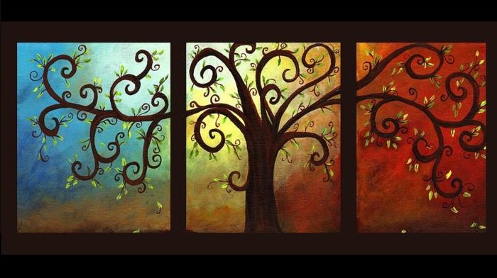 tableau-composé-d'un-triple-panneau-peinture-triptyque-joli-tableau-triptyque