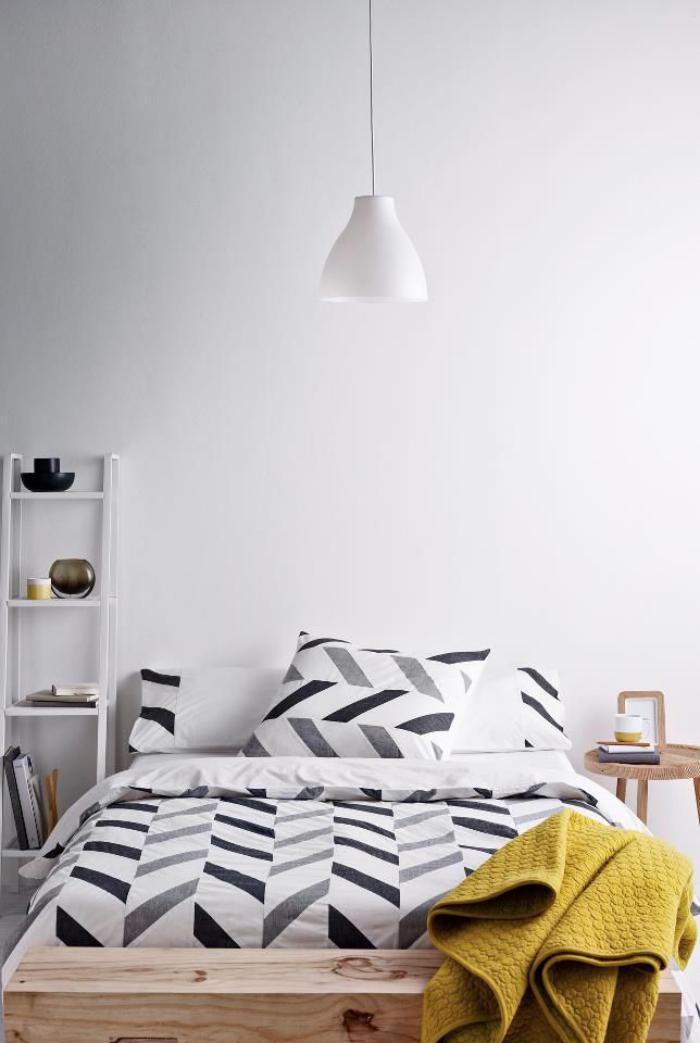 tissu-scandinave-chambre-à-coucher-style-scandinave