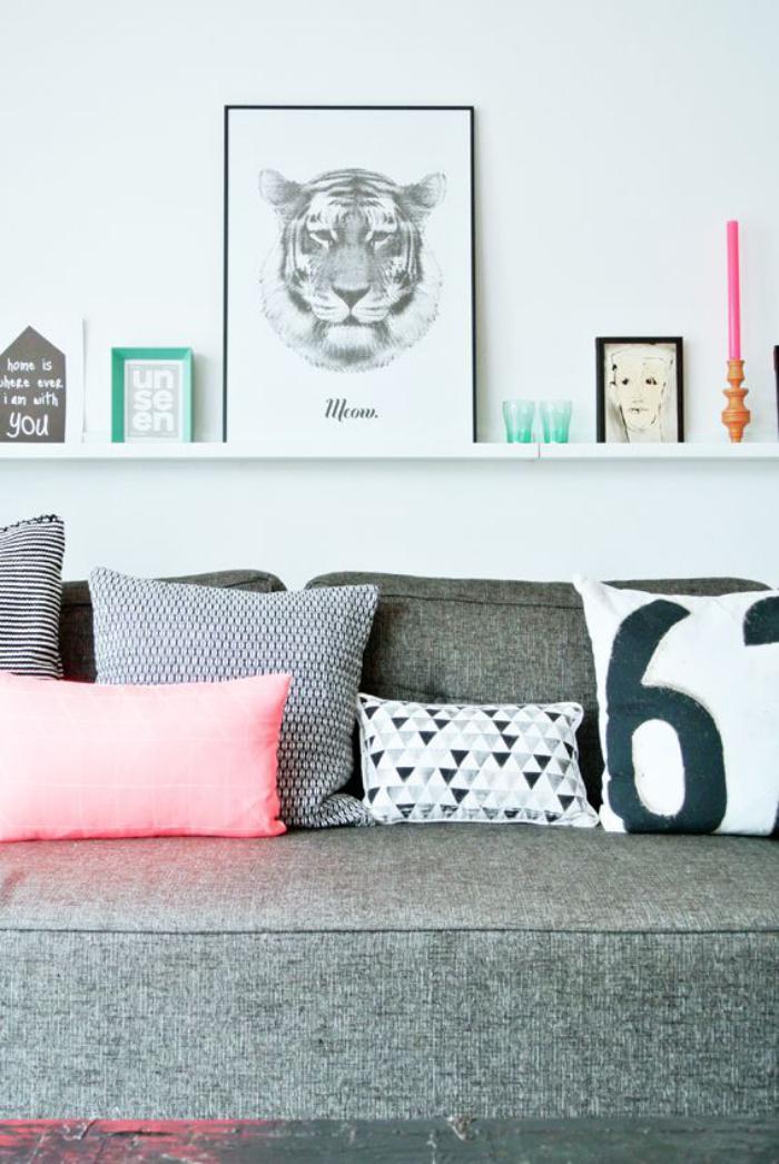 tissu-scandinave-décor-original-en-gris-et-blanc
