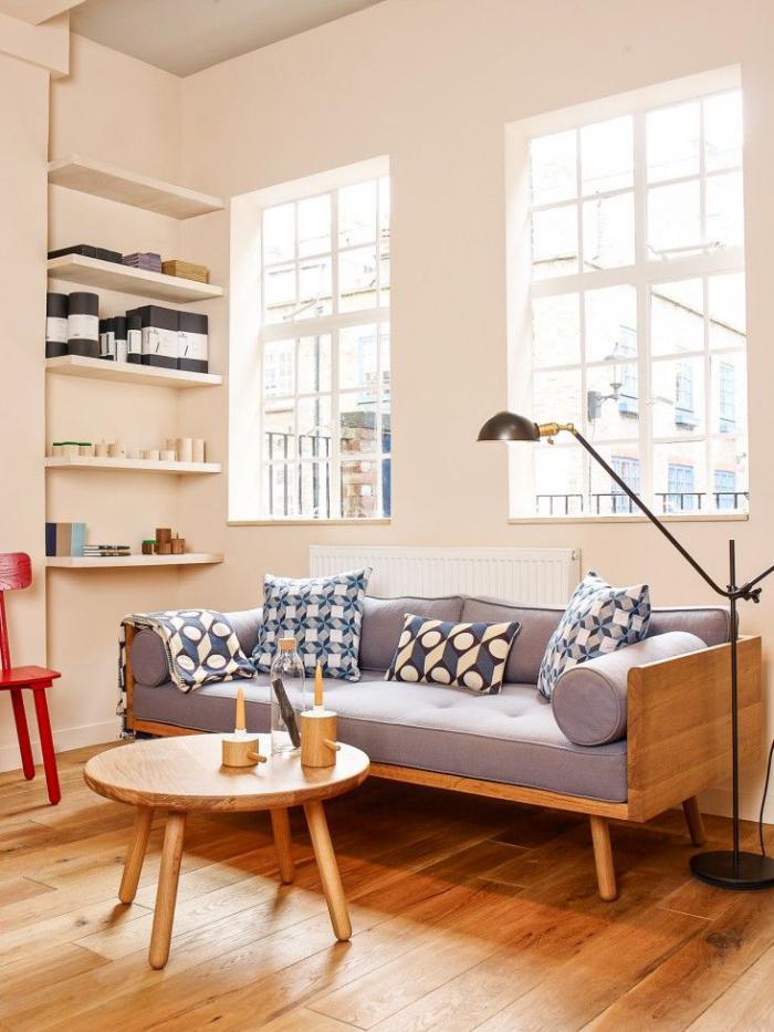 tissu-scandinave-meubles-en-bois-scandinaves-coussins