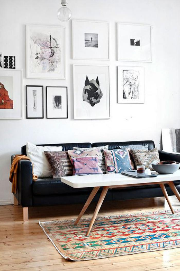 tissu-scandinave-salle-de-séjour-style-scandinave