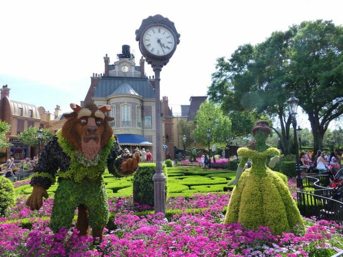 tous-les-idées-déco-inpiration-la-Belle-et-la-Bête-Disney-animation-design-interieur-jardin