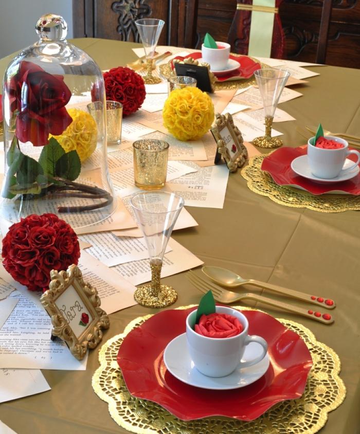 tous-les-idées-déco-inpiration-la-Belle-et-la-Bête-Disney-animation-design-interieur-table-mariage