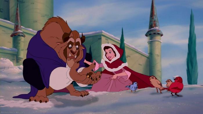 La Belle et la Bête Disney décoration en 80 idées magnifiques!  Archzine fr
