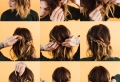 Comment faire une coiffure facile cheveux mi-longs?