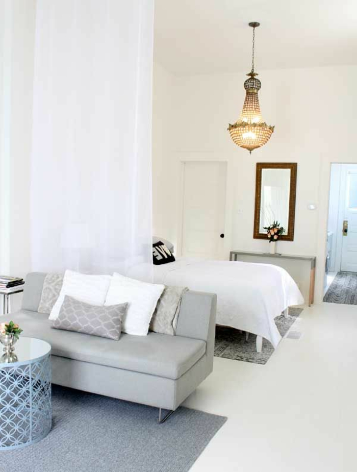 Beautiful with voilage pour chambre for Voilage chambre ado