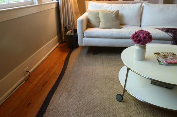 un-tapis-sisal-ou-jonc-de-mer-tapis-idée-comment-aménager-son-salon-aménagé
