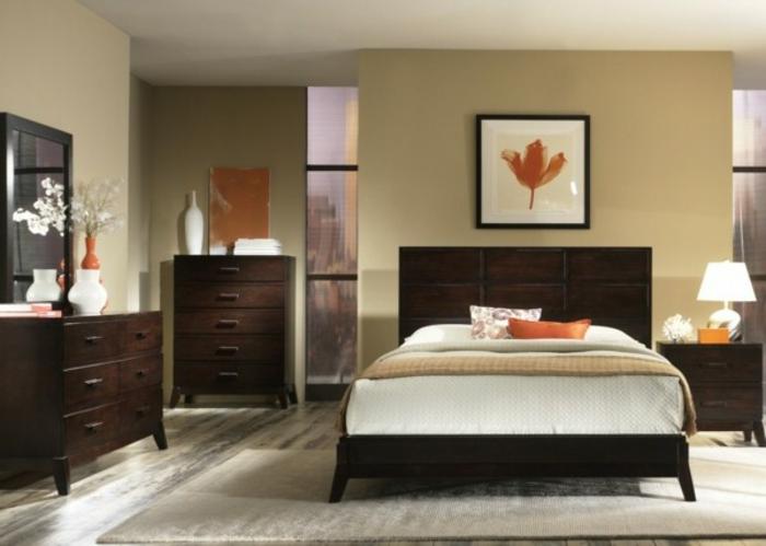 une-chambre-à-coucher-bien-aménagée-lit-adulte-160x200-lit-tableau