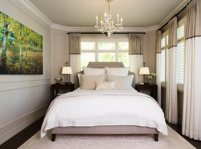 Choisir le meilleur lit adulte 40 belles id es - Amenagement chambre 11m2 ...