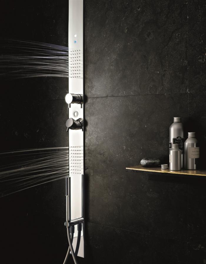 une-colonne-de-douche-hydromassante-dans-la-salle-de-bain-noire