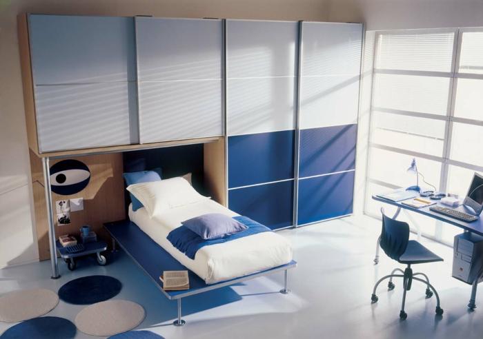 Comment bien choisir un meuble gain de place en 50 photos for Chambre a coucher une place