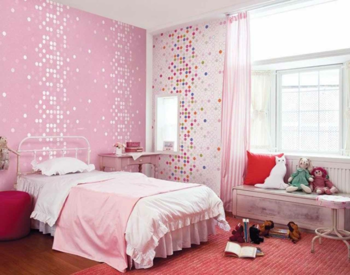 Chambre De Fille Style Baroque With Voilages Alinea With Alinea Rideaux