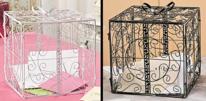 urne-mariage-pas-cher-urne-coeur-urnes-mariage-boîte-cartes-cube-en-fer-beau